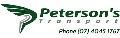 petersons transport website design cairns