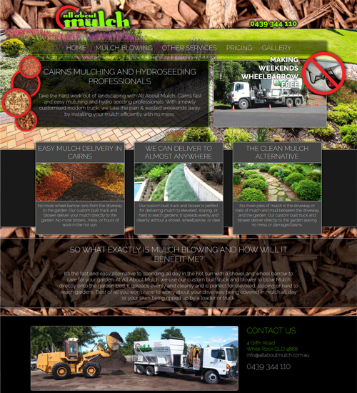 web design cairns and townsville