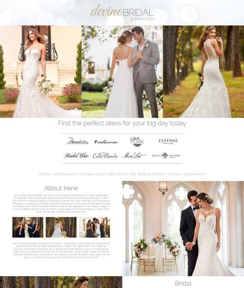 cairns dressmaker website