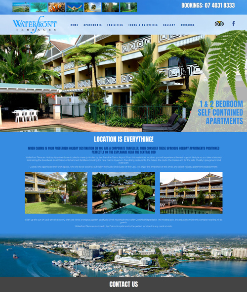 cairns hotel web design