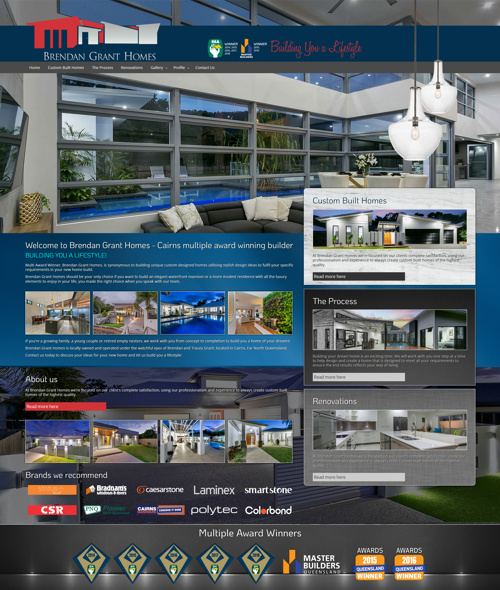 commercial website design