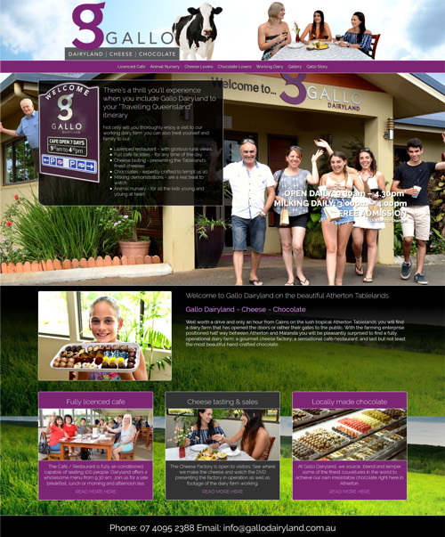 latest website design cairns